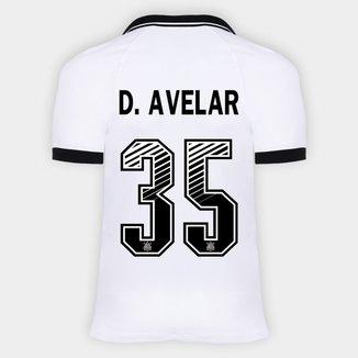 Camisa Corinthians I 20/21 - D. Avelar Nº 35 - Torcedor Nike Masculina