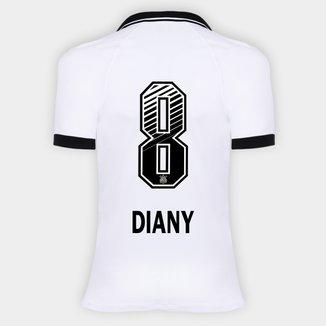 Camisa Corinthians I 20/21 - Diany N° 8 - Torcedor Nike Feminina