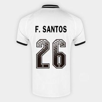 Camisa Corinthians I 20/21 F. Santos Nº  26  Torcedor Nike Masculina