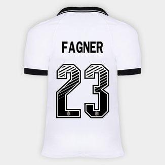 Camisa Corinthians I 20/21 - Fagner Nº 23 - Torcedor Nike Masculina