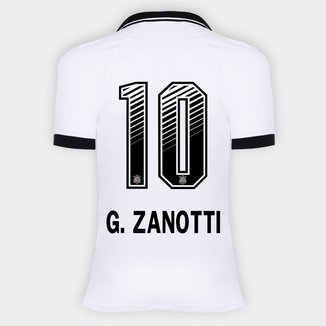 Camisa Corinthians I 20/21 - G. Zanotti N° 10 - Torcedor Nike Feminina