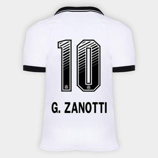 Camisa Corinthians I 20/21 - G. Zanotti N° 10 - Torcedor Nike Masculina