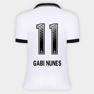 Camisa Corinthians I 20/21 - Gabi Nunes N° 11 - Torcedor Nike Feminina