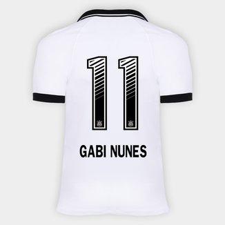 Camisa Corinthians I 20/21 - Gabi Nunes N° 11 - Torcedor Nike Masculina