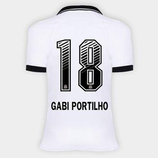 Camisa Corinthians I 20/21 - Gabi Portilho N° 18 - Torcedor Nike Feminina