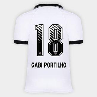 Camisa Corinthians I 20/21 - Gabi Portilho N° 18 - Torcedor Nike Masculina