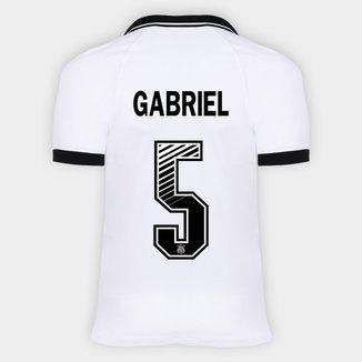 Camisa Corinthians I 20/21 - Gabriel Nº 5 - Torcedor Nike Masculina