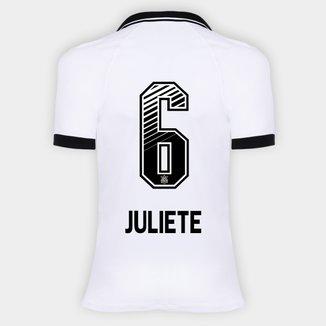 Camisa Corinthians I 20/21 - Juliete N° 6 - Torcedor Nike Feminina