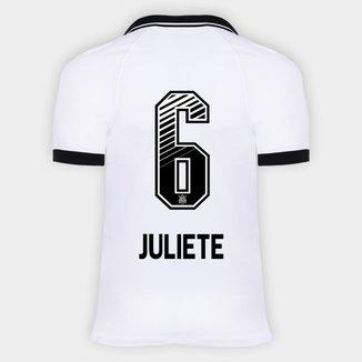 Camisa Corinthians I 20/21 - Juliete N° 6 - Torcedor Nike Masculina