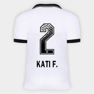 Camisa Corinthians I 20/21 - Kati F. N° 2 - Torcedor Nike Masculina