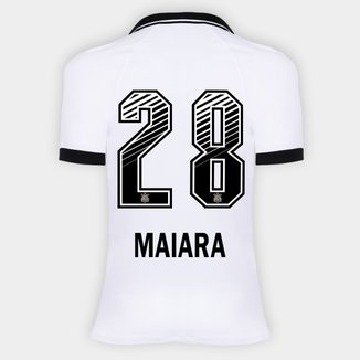 Camisa Corinthians I 20/21 - Maiara N° 28 - Torcedor Nike Feminina