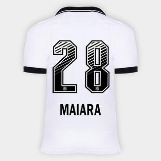 Camisa Corinthians I 20/21 - Maiara N° 28 - Torcedor Nike Masculina