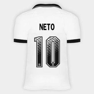 Camisa Corinthians I 20/21 - Neto Nº 10 - Torcedor Nike Masculina