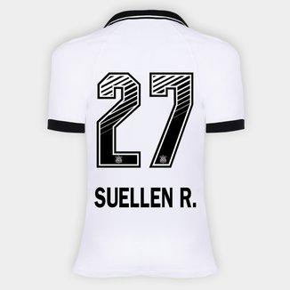 Camisa Corinthians I 20/21 - Suellen R. N° 27 - Torcedor Nike Feminina