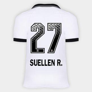 Camisa Corinthians I 20/21 - Suellen R. N° 27 - Torcedor Nike Masculina