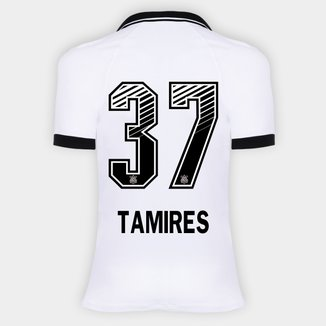 Camisa Corinthians I 20/21 - Tamires N° 37 - Torcedor Nike Feminina