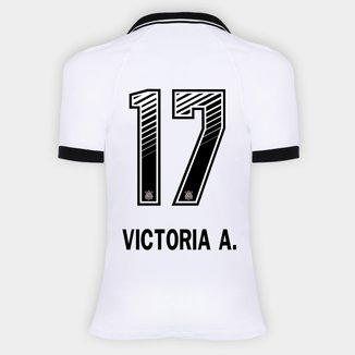 Camisa Corinthians I 20/21 - Victoria A. N° 17 - Torcedor Nike Feminina