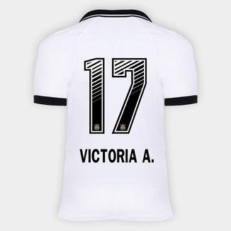 Camisa Corinthians I 20/21 - Victoria A. N° 17 - Torcedor Nike Masculina