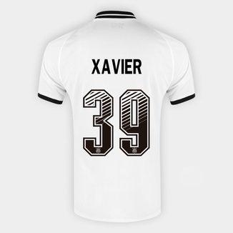 Camisa Corinthians I 20/21 Xavier Nº 39 Torcedor Nike Masculina
