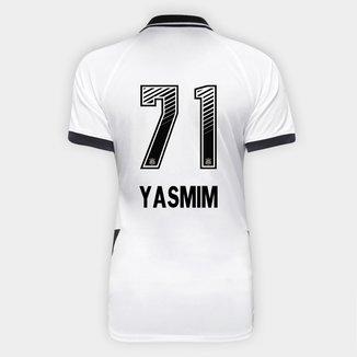 Camisa Corinthians I 20/21  Yasmim N° 71 Torcedor Nike Feminina