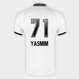 Camisa Corinthians I 20/21 Yasmim N° 71 Torcedor Nike Masculina