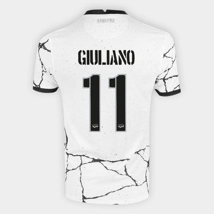 Camisa Corinthians I 21/22 Giuliano n° 11 Torcedor Nike Masculina