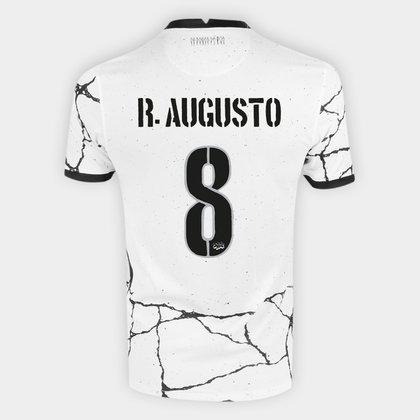 Camisa Corinthians I 21/22 R. Augusto Nº 8 Torcedor Nike Masculina