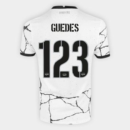 Camisa Corinthians I 21/22 Roger Guedes nº 123 Torcedor Nike Masculina