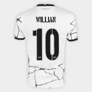 Camisa Corinthians I 21/22 Willian nº 10 Torcedor Nike Masculina