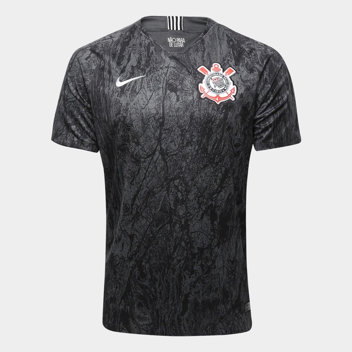 ... Camisa Corinthians II 18 19 n° 17 - M.Boselli Torcedor Nike Masculina  ... cacc8703fb400
