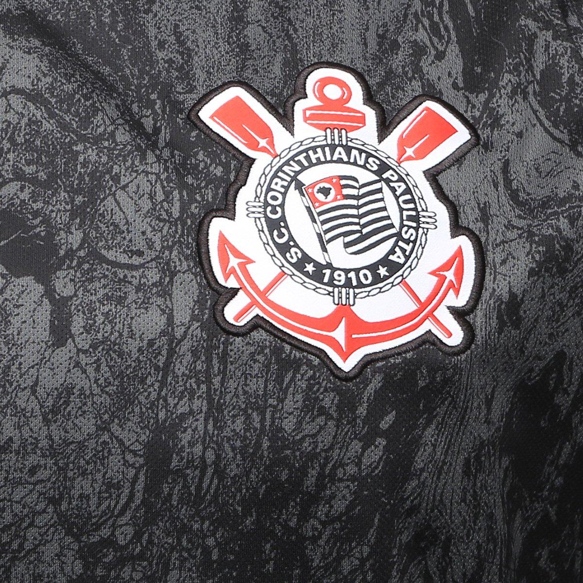 481ef3aec8 Camisa Corinthians II 18 19 s n° Torcedor Nike Masculina - Preto ...
