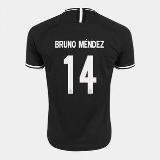Camisa Corinthians II 19/20 - Bruno Méndez Nº 14 - Torcedor Nike Masculina