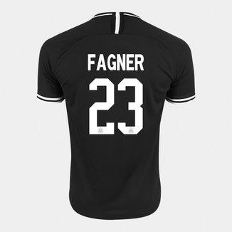 Camisa Corinthians II 19/20 - Fagner Nº 23 - Torcedor Nike Masculina