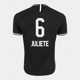 Camisa Corinthians II 19/20 - Juliete N° 6 - Torcedor Nike Masculina