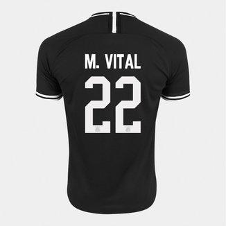 Camisa Corinthians II 19/20 Nº 22 M. Vital - Torcedor Nike Masculina