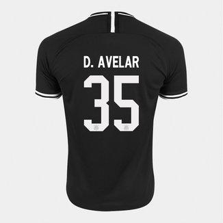 Camisa Corinthians II 19/20 Nº 35 D. Avelar - Torcedor Nike Masculina