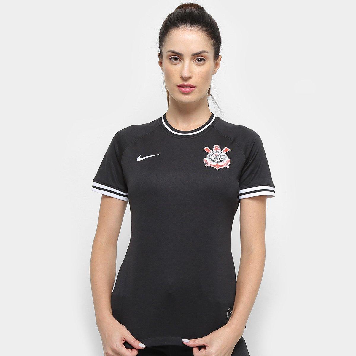 latín techo nacido  Camisa Corinthians II 19/20 s/nº Torcedor Nike Feminina | Shop Timão