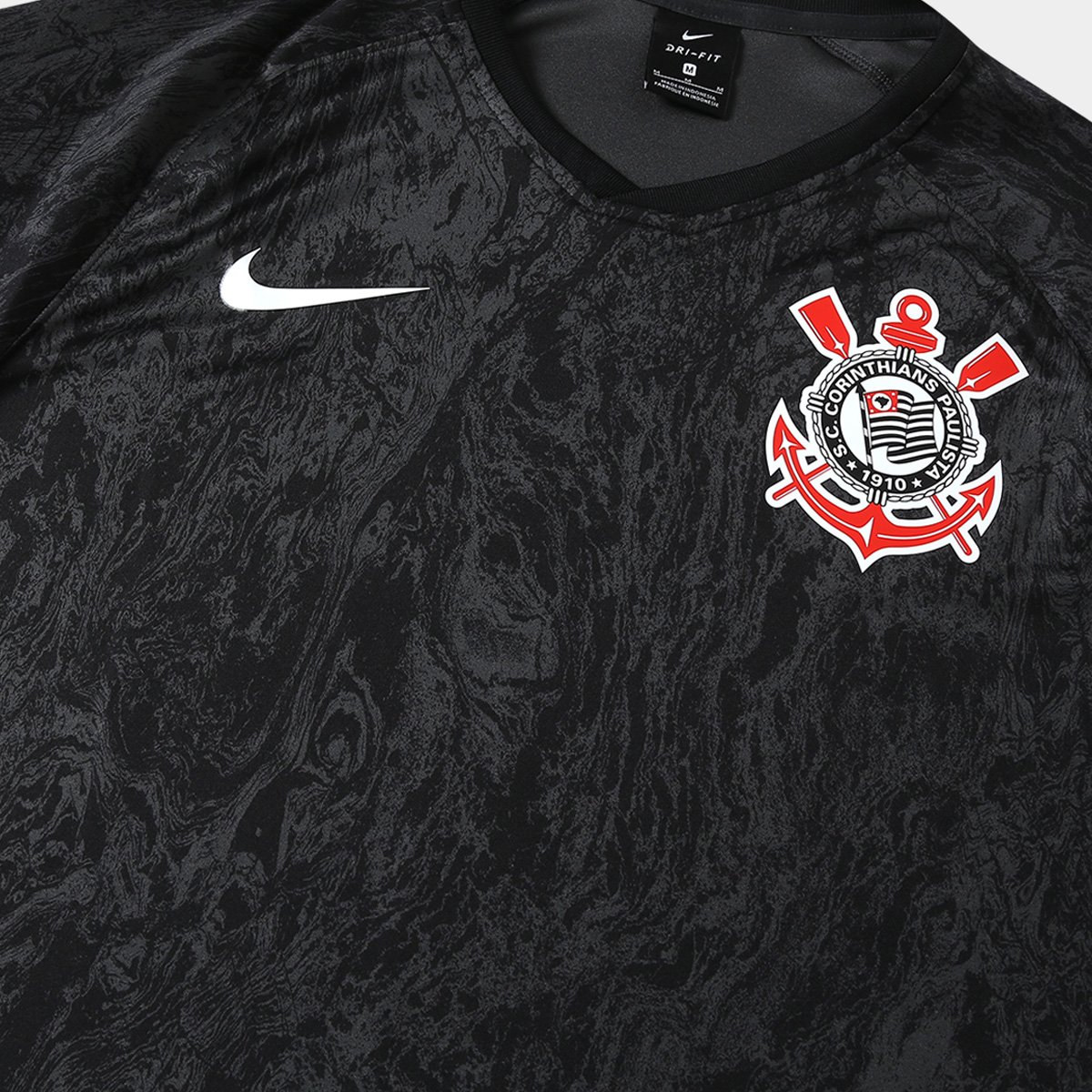 cef7fb6e66 Camisa Corinthians II 2018 s n° - Torcedor Estádio Nike Masculina ...