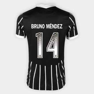 Camisa Corinthians II 20/21 - Bruno Méndez Nº 14 - Torcedor Nike Masculina