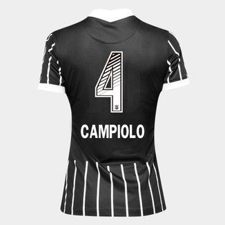 Camisa Corinthians II 20/21 - Campiolo N° 4 - Torcedor Nike Feminina