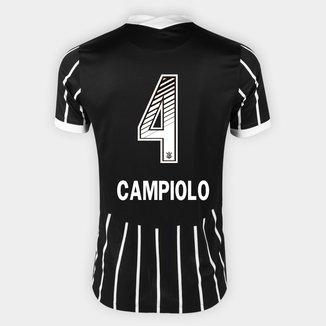 Camisa Corinthians II 20/21 - Campiolo N° 4 - Torcedor Nike Masculina