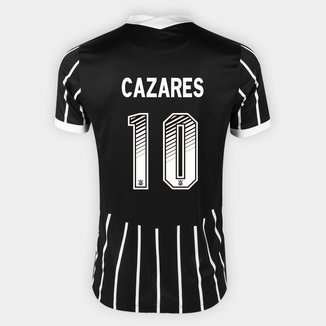 Camisa Corinthians II 20/21 Cazares Nº 10 Torcedor Nike Masculina