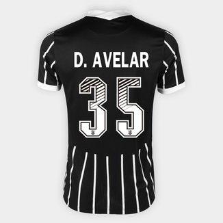 Camisa Corinthians II 20/21 - D. Avelar Nº 35 - Torcedor Nike Masculina