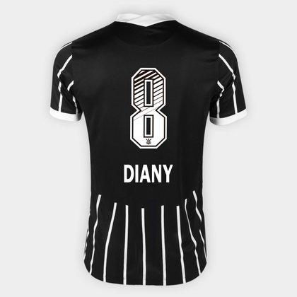 Camisa Corinthians II 20/21 - Diany N° 8 - Torcedor Nike Masculina