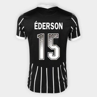 Camisa Corinthians II 20/21 - Éderson Nº 15 - Torcedor Nike Masculina