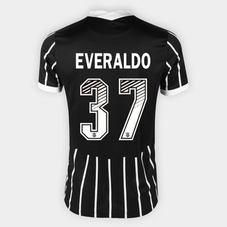 Camisa Corinthians II 20/21 - Everaldo Nº 37 - Torcedor Nike Masculina