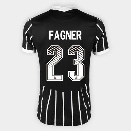 Camisa Corinthians II 20/21 - Fagner Nº 23 - Torcedor Nike Masculina