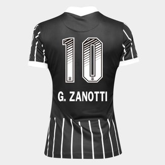 Camisa Corinthians II 20/21 - G. Zanotti N° 10 - Torcedor Nike Feminina