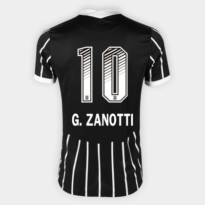 Camisa Corinthians II 20/21 - G. Zanotti N° 10 - Torcedor Nike Masculina