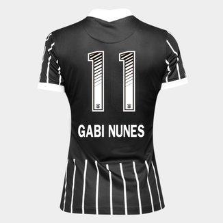 Camisa Corinthians II 20/21 - Gabi Nunes N° 11 - Torcedor Nike Feminina